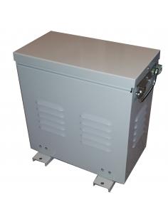 Autotransformador trifásico 230/400V 1 KVA reversible con caja