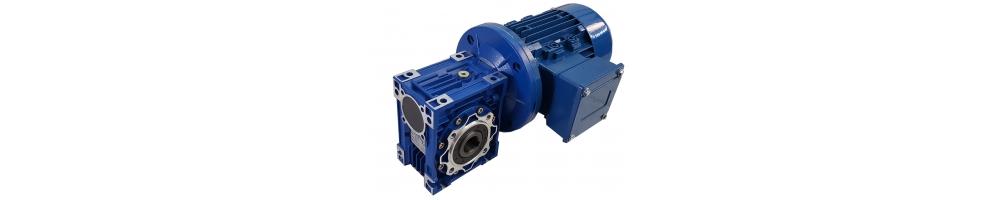 Motores sem fase sem fim de coroa 0,25CV a 10CV | Preço on-line em ADAJUSA.'