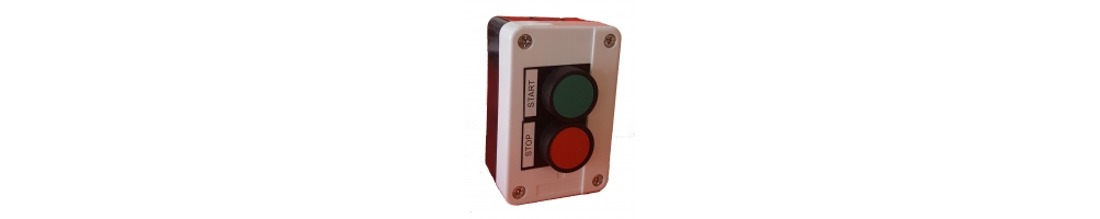Teclas completas de botão e botões para 2 elementos