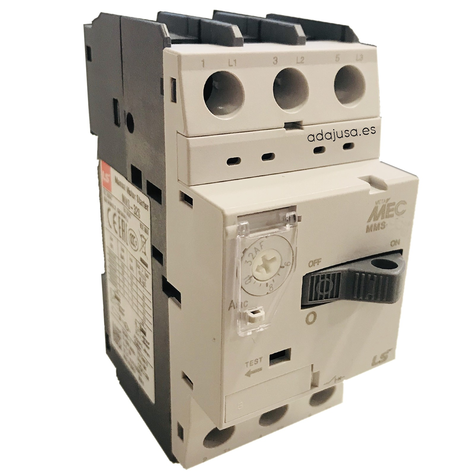 Disjuntor de proteção do motor 2,5 a 4 A MMS-32S - LSis